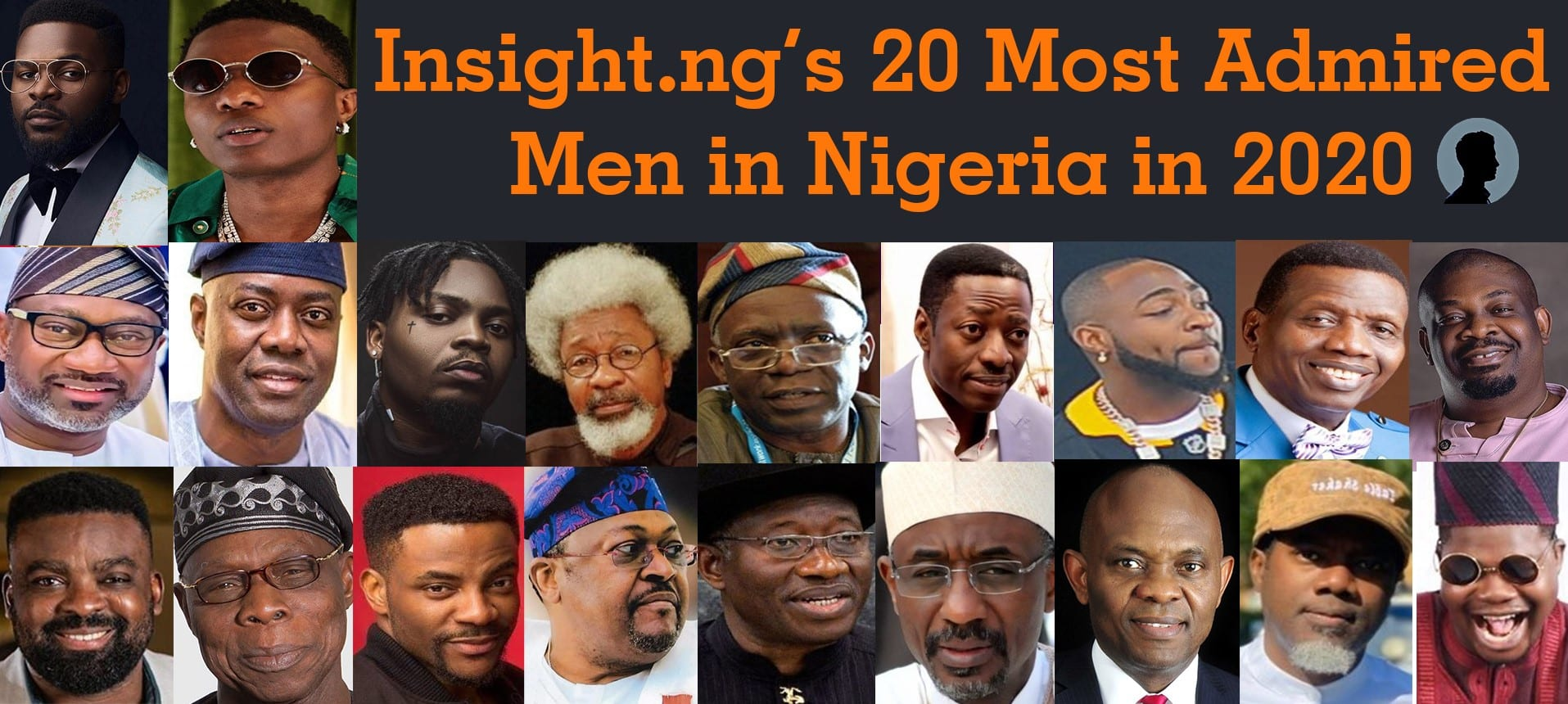 20 most admired men in Nigeria