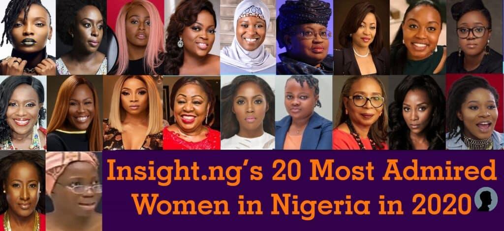 20 most admired women in Nigeria