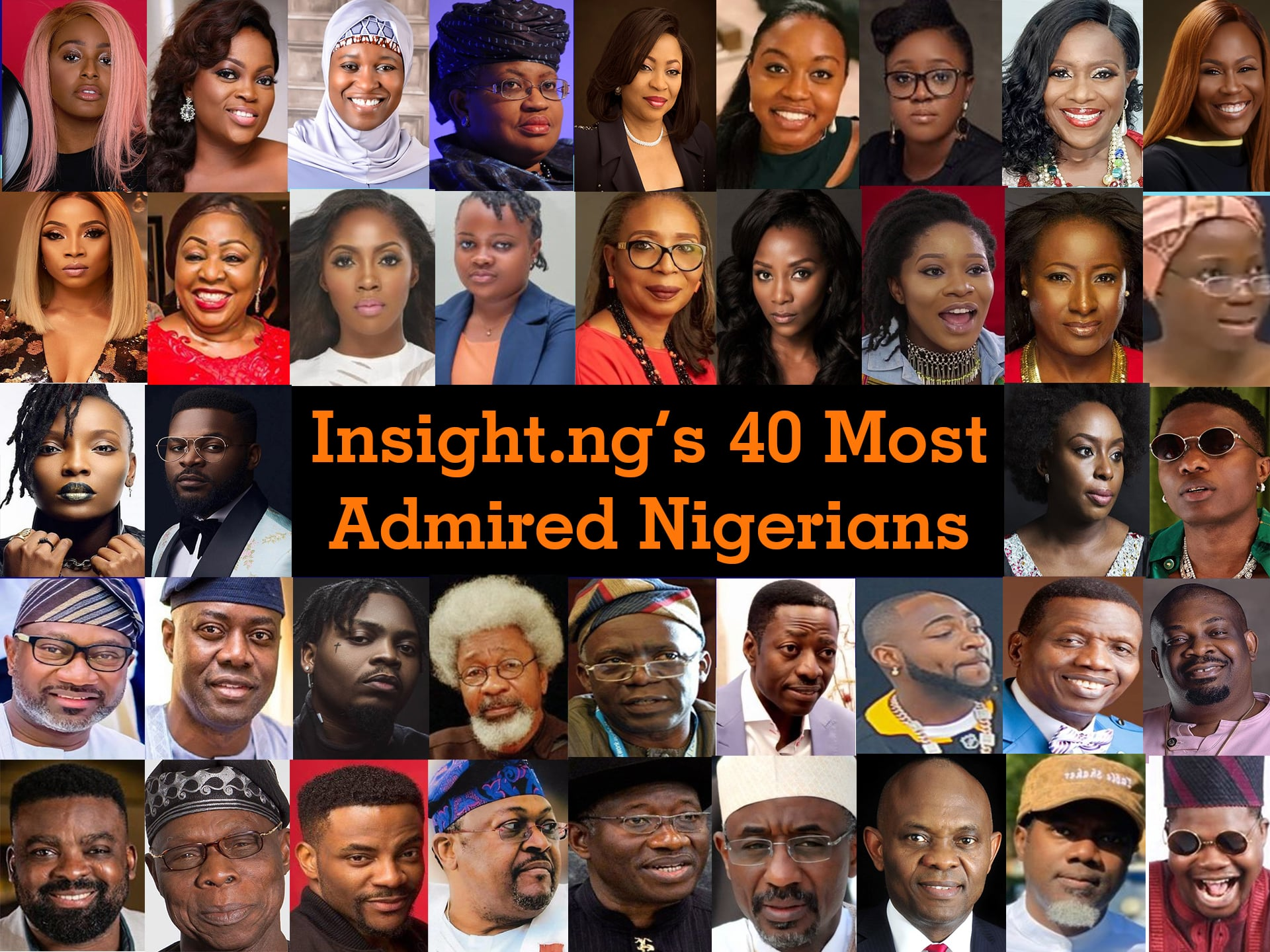 most admired people in Nigeria