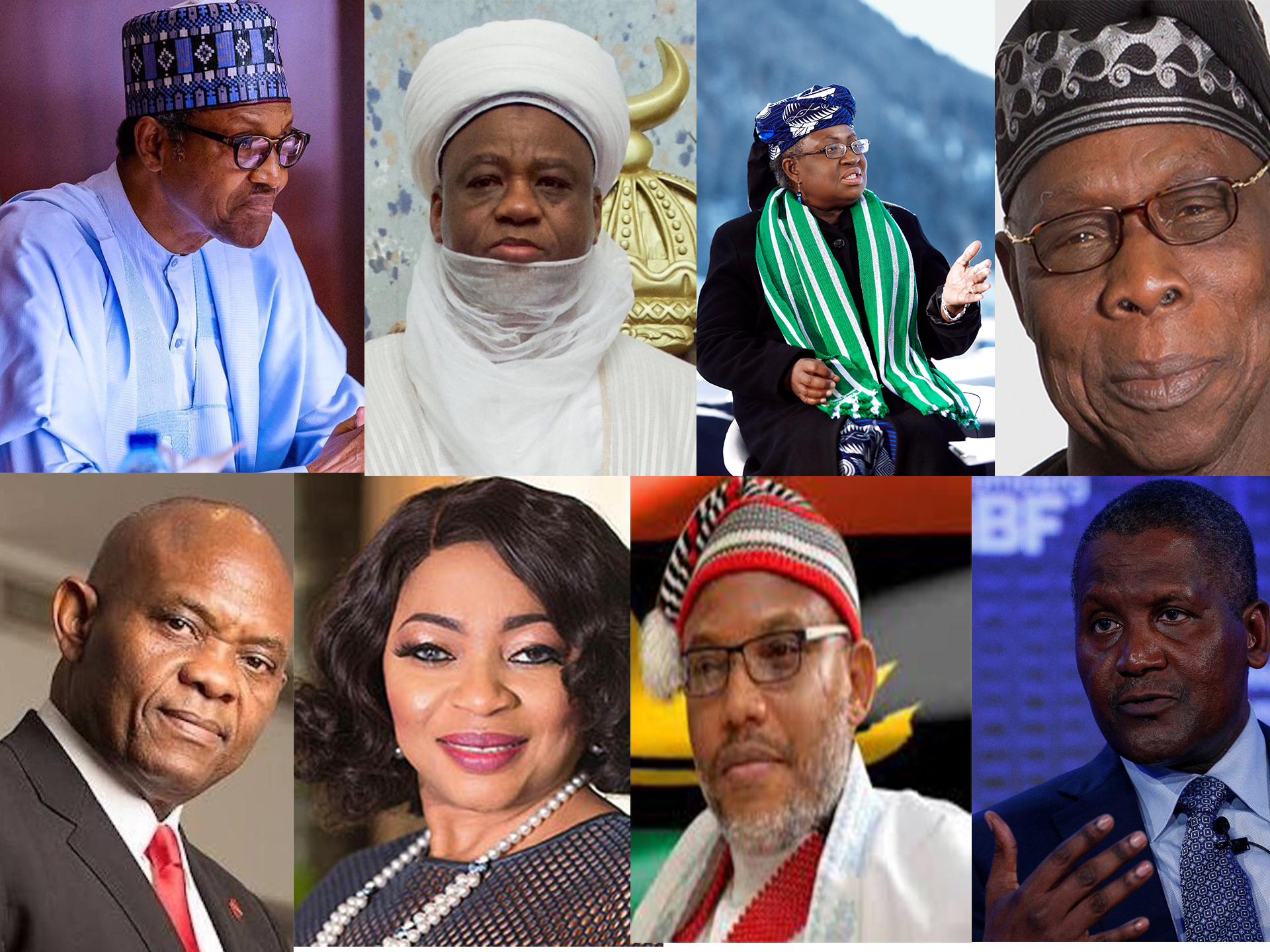 100 most powerful people in Nigeria