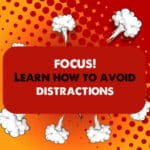 how to avoid distractions at work
